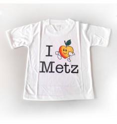 T-Shirt 'I love Metz'