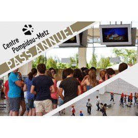 Pass Annuel Centre Pompidou Metz