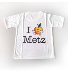 T-Shirt 'I love Metz'