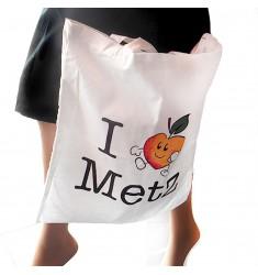 Sac en Toile ' I Love Metz'