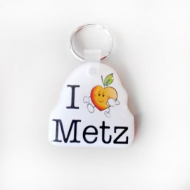 Porte Clés 'I Love Metz'