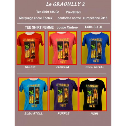 T SHIRT GRAOULY FEMME