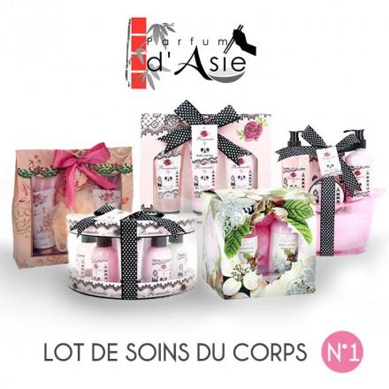 """Pack Noël """"Zen"""" Lot de 5 coffrets de soin pour le Corps"""
